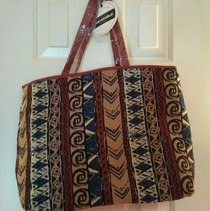 NWT Under One Sky Reversible Tote